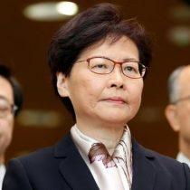 "Hong Kong: jefa de Gobierno ""retiró"" proyecto de ley de extradición"