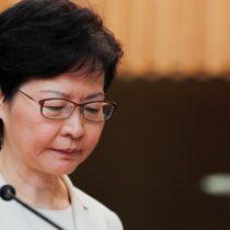 Carrie Lam condena eventual intromisión de EE.UU. en Hong Kong