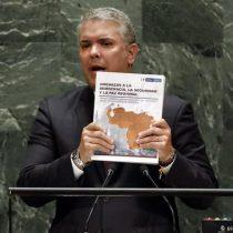 Medio colombiano cuestiona veracidad de foto del ELN que Iván Duque llevó a la ONU