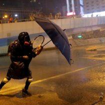 Nuevos choques en Hong Kong tras protesta prodemocrática