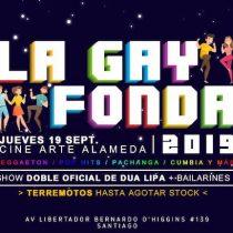 Fiesta La Gay Fonda en Centro Arte Alameda