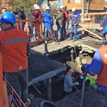 Suspenden clases este lunes en Chiguayante por corte de agua