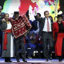 Alcalde Alessandri inaugura fondas del Parque O'Higgins con particular paya