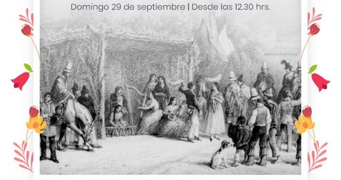 """Fiesta de inicio de la primavera """"La Chingana"""" en Persa Víctor Manuel"""