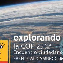 """Muestra interactiva """"Explorando la COP25: Encuentro Ciudadano frente al Cambio Climático"""" en metro Quinta Normal"""