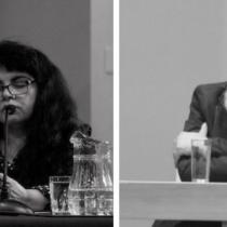 De antología: la descomunal reyerta verbal entre los poetas Raúl Zurita y Verónica Jiménez Dotte