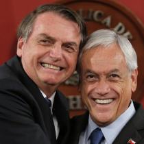 """Bolsonaro y Piñera, """"enemigos íntimos"""""""