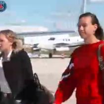 The Best: Christiane Endler llega a Milán en compañía del francés Kylian Mbappé