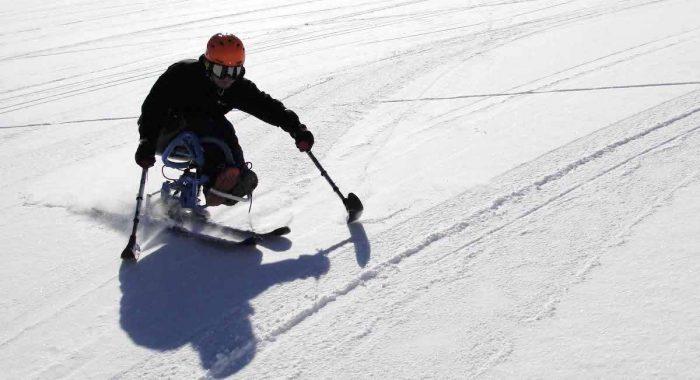 Esquí adaptado: rompiendo las barreras de la discapacidad