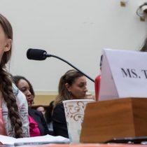 Greta Thunberg encara al congreso de EEUU:
