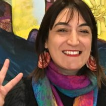 """[Archivo] Katiuska Rojas, presidenta del colegio de Matronas y Matrones de la RM: """"Nos formaron desde lo heteronormado"""""""