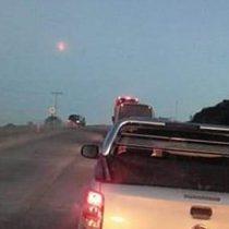 Equipo del Sernageomin llega a Dalcahue para determinar si efectivamente cayó un meteorito en la zona