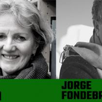Recital de poesía bilingüe con poeta irlandesa Moya Cannon y el traductor Jorge Fondebrider en Archivo Nacional
