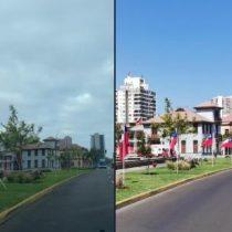 Delincuencia dieciochera en Antofagasta: roban banderas chilenas colocadas en el borde costero de la comuna