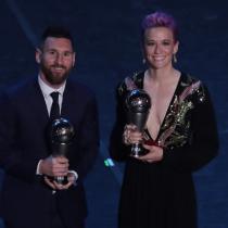 Lionel Messi y Megan Rapinoe, los protagonistas de la gala FIFA The Best en Milán