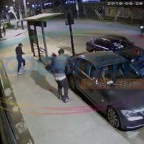 Sin miedo: transeúnte enfrenta a delincuentes armados y evita robo de auto de mujer embarazada en San Bernardo