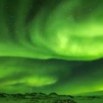 Impresionante fenómeno natural tiñe el cielo de la Antártica