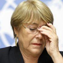 """Bachelet niega vinculación con OAS y advierte que no sabe """"si hay otro trasfondo detrás de esto"""""""