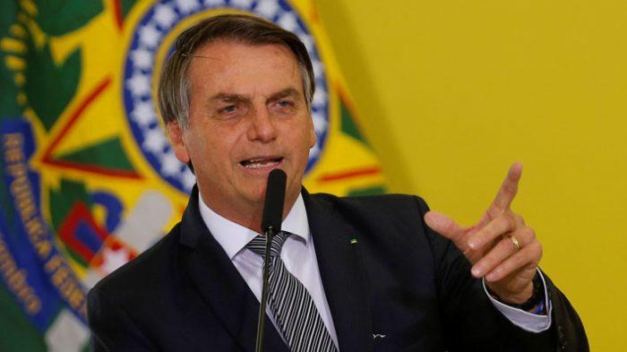 José Antonio Kast y Camila Flores se cuadran con Bolsonaro tras dichos contra Bachelet: