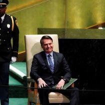 """Amazonía, el socialismo y el """"patriotismo"""" de Moro: el polémico discurso de Jair Bolsonaro que abrió la 74 Asamblea General de la ONU"""