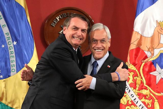 Aliado complicado: dichos de Bolsonaro sobre dictadura le abren flanco a Piñera ad portas del 11 de septiembre