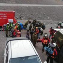 Encuentran sin vida al excursionista que se encontraba extraviado tras avalancha en cerro de Los Andes