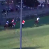 Carrera en el Club Hípico termina con tres caballos sacrificados y jinetes lesionados
