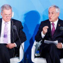 Piñera pide a EE.UU. y China que acaben guerra comercial y muestren liderazgo
