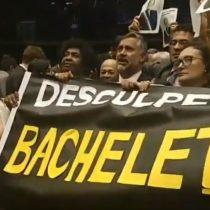 """""""Disculpe Bachelet, estamos con usted"""": el desagravio de diputados brasileños luego del ataque de Bolsonaro"""
