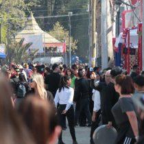 Fondas del Parque O´Higgins generaron 937 kilos de residuos en los primeros días de celebración