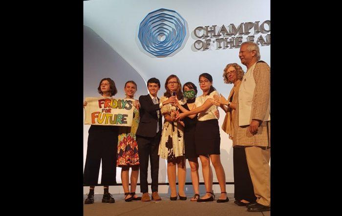 """""""Estos jóvenes son una inspiración"""": Fridays for Future recibe premio Champions of the Earth de la ONU"""