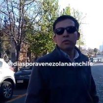 Trabajador venezolano graba insultos xenófobos de chileno