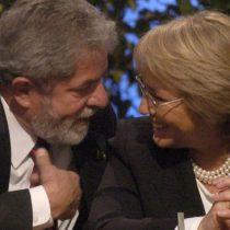 Lula da Silva respalda a Bachelet ante polémicos dichos de Bolsonaro: