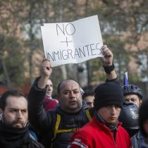 #QuePenaTuMarcha: el hashtag que cubrió la pequeña movilización en contra de la Ley Migratoria