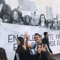 Grandes personajes de la cultura apoyan la lucha feminista en intervención artística del GAM
