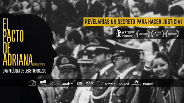 """Función gratuita documental """"El pacto de Adriana"""" en Museo de la Memoria"""