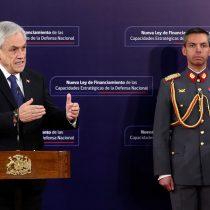 """Piñera omite cualquier alusión al Golpe y se enfoca en elogiar la transición a un día del """"11"""""""