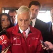 """""""Voy a hacer cumplir la Constitución"""": la advertencia de Piñera contra el proyecto de 40 horas"""