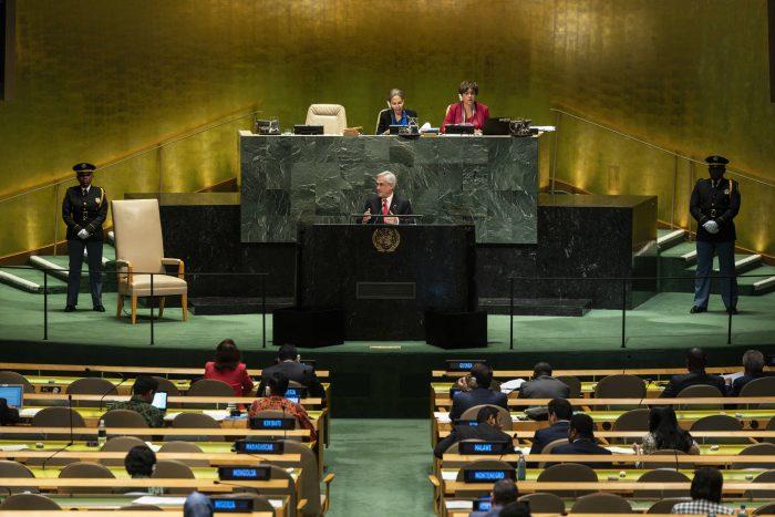 Discurso medioambiental de Piñera de la ONU genera duras críticas por falta de acciones concretas en Chile