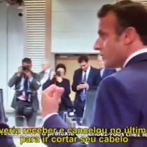 El desahogo de Macron con Piñera por actuar de Bolsonaro: