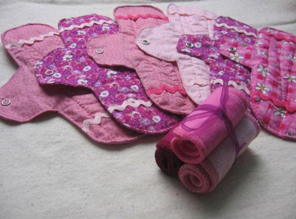 Reutilizables y lavables: los beneficios de las toallas higiénicas de tela