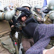 Alta tensión en la Alameda: los videos de los incidentes en la jornada de protesta nacional