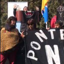 """""""No más empresas en Quintero y Puchuncaví"""": dirigenta tomó el micrófono en pleno acto del gobierno respecto a la COP 25"""