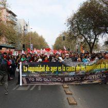 Romería: con incidentes terminó marcha en conmemoración de las víctimas de la Dictadura a 46 años del golpe