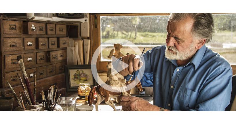 La maestría de Zerreitug en Sello Propio: las miniaturas de la historia de Chile que cobran vida en dioramas