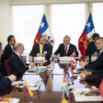Presidente Piñera encabeza reunión de Prosur y da inicio a su funcionamiento