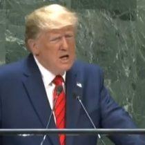 """Donald Trump lanzó toda su artillería en la Asamblea General de las Naciones Unidas: """"Maduro es una marioneta cubana"""""""