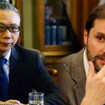 El insólito round entre el embajador chino y el diputado Bellolio