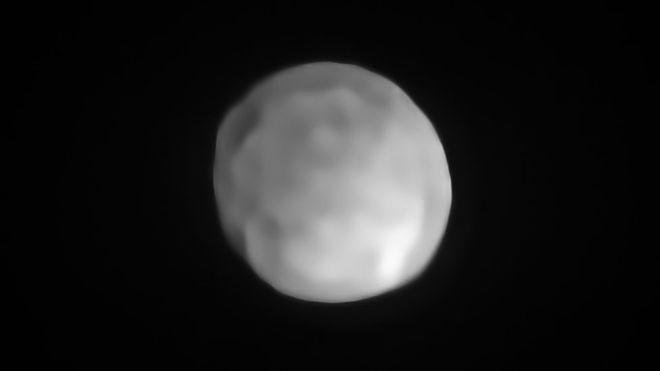 Hygiea, el asteroide que podría ser el planeta enano más pequeño del Sistema Solar