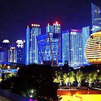 Hangzhou, la nueva ciudad de las luces que convoca a miles de turistas